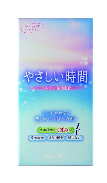 日本香堂NipponKodoやさしい時間しゃぼんの香りバラ詰
