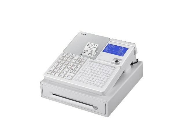 カシオCASIOレジスターSR-C550-4SWEホワイト[対応][SRC5504SWE]