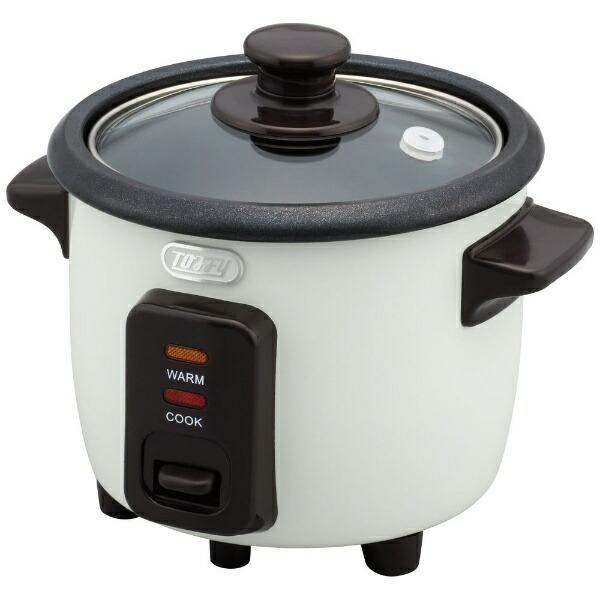 ラドンナLADONNAK-RC1-AW炊飯器ToffyミニライスクッカーASHWHITE[1.5合][1.5合一人暮らしおしゃれKRC1]