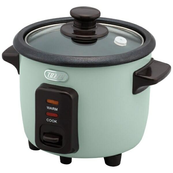 ラドンナLADONNAK-RC1-PA炊飯器ToffyミニライスクッカーPALEAQUA[1.5合/マイコン][1.5合一人暮らしおしゃれKRC1]