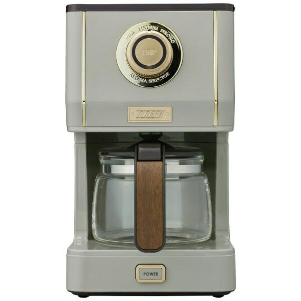 ラドンナLADONNAコーヒーメーカーTOFFYGREGEK-CM5-GE[おしゃれKCM5]