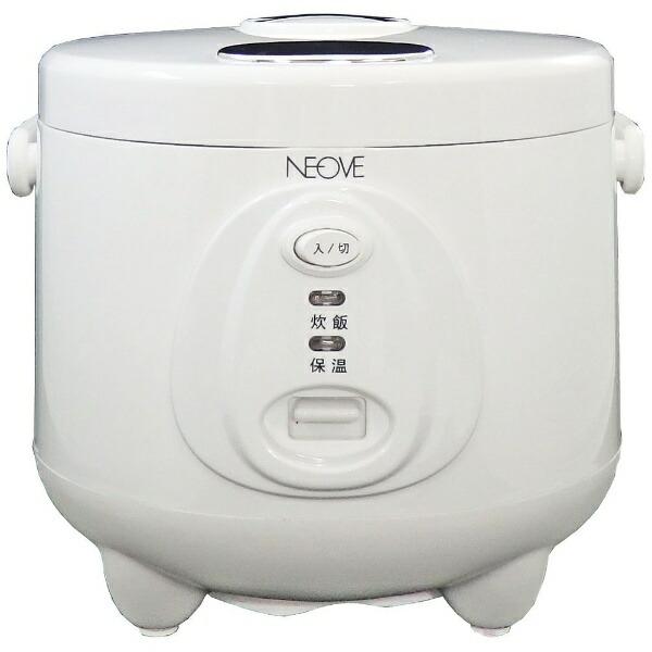 NEOVEネオーブ炊飯器ホワイトRRS-AT30WT[マイコン/3合][一人暮らし新生活おすすめRRSAT30WT]
