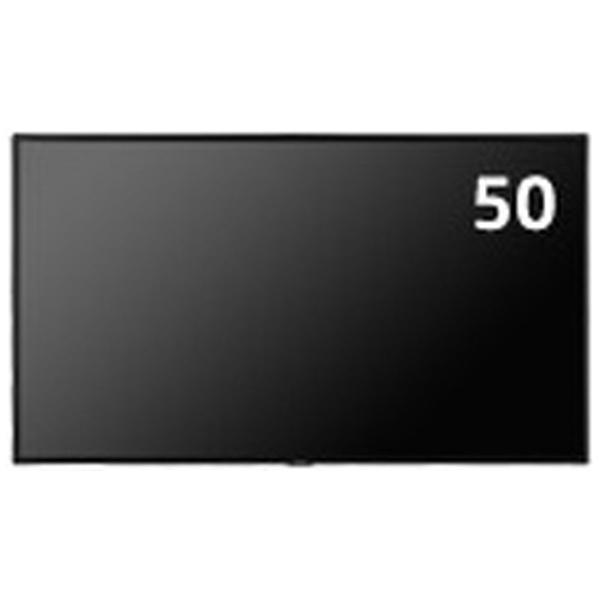 NECエヌイーシーデジタルサイネージ向けパブリックディスプレイMultiSyncブラックLCD-C501[ワイド/フルHD(1920×1080)][LCDC501]