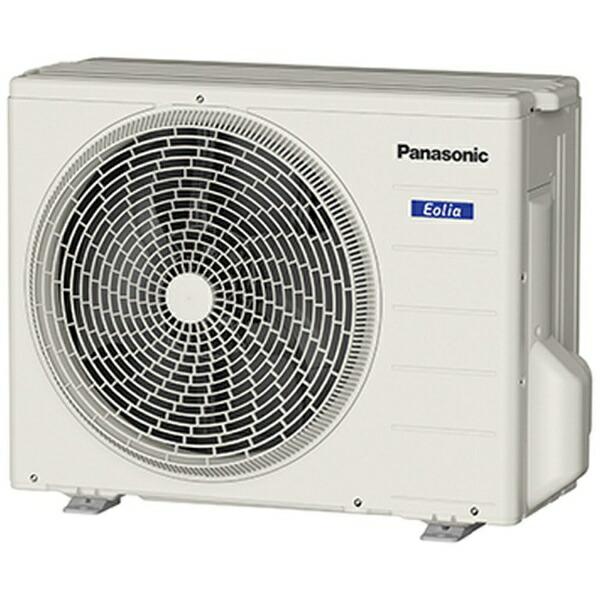 パナソニックPanasonicCS-259CFR-Wエアコン2019年Eolia(エオリア)Fシリーズクリスタルホワイト[おもに8畳用/100V][エアコン8畳CS259CFRW+CUF259C]【zero_emi】