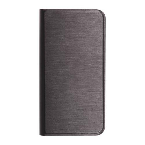 OWLTECHオウルテックiPhone8/7/6s/6用ヘアライン手帳型ケースSTDOWL-CVIP7S06OWL-CVIP7S06-BKブラック