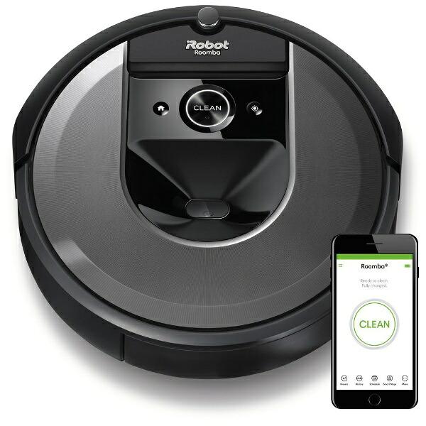 iRobotアイロボット【国内正規品】ロボット掃除機「ルンバ」i7+ダークグレーi755060[Roombaルンバi7+i755060お掃除ロボット]
