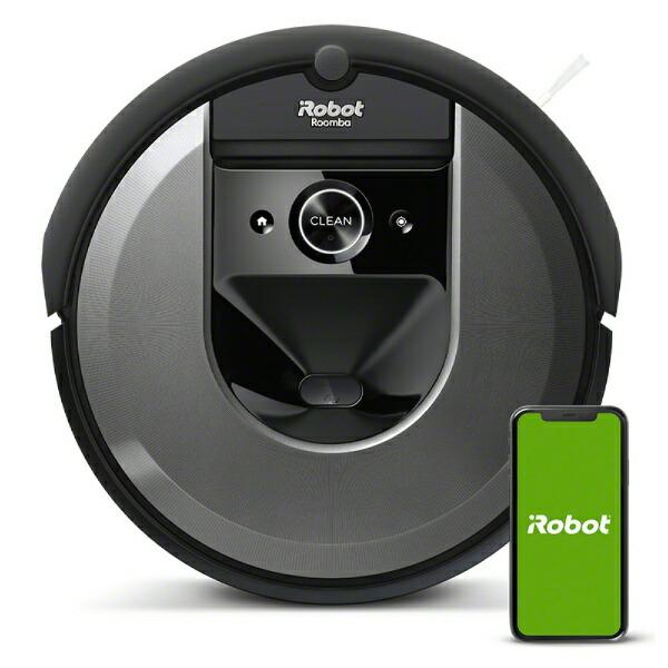 iRobotアイロボット【国内正規品】ロボット掃除機「ルンバ」i7ダークグレーi715060[Roombai7i715060お掃除ロボット]【point_rb】