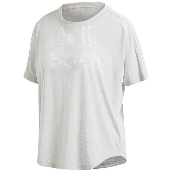 アディダスadidasトレーニングウェアM4TMagicLogoTシャツレディースLサイズ(グレーTWOF17)EMC01