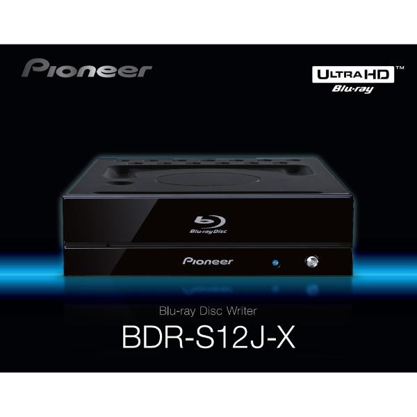 パイオニアPIONEERBDR-S12J-X(ブルーレイドライブ/UHDBD再生対応/BDXL対応/M-DISC対応/SATA/ソフト付き)BDR-S12J-X[BDRS12JX]