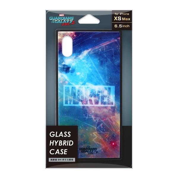 PGAiPhoneXSMax用ガラスハイブリッドケースPG-DCS636GDGガーディアンズ・オブ・ザ・ギャラクシー