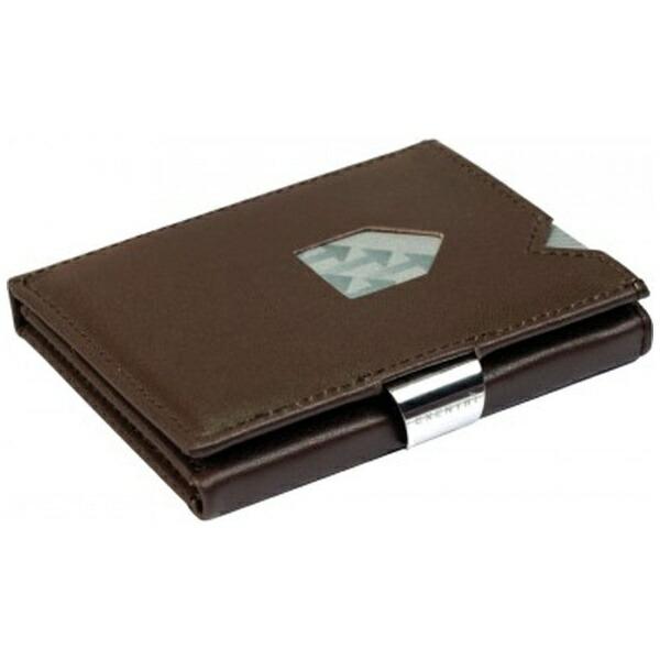 EXENTRIエキセントリEX002BROWNブラウンウォレットEXENTRIコンパクト財布