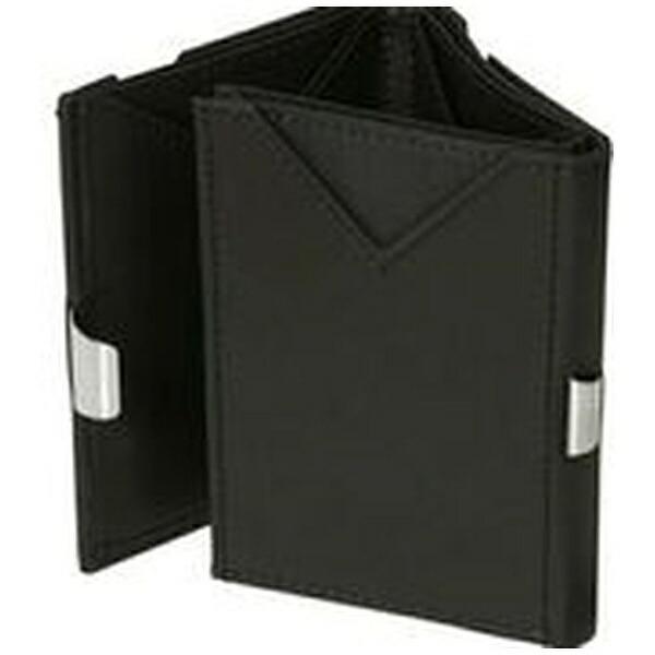 EXENTRIエキセントリEX019NUBUCKBLACKヌバックブラックウォレットEXENTRIコンパクト財布