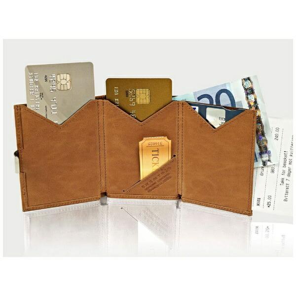 EXENTRIエキセントリEX024HAZELNUTCHESSヘーゼルナッツチェスウォレットEXENTRIコンパクト財布