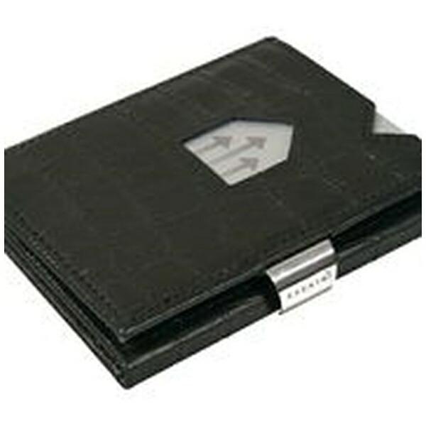 EXENTRIエキセントリEX101CAIMANBLACKカイマンブラックウォレットEXENTRIコンパクト財布