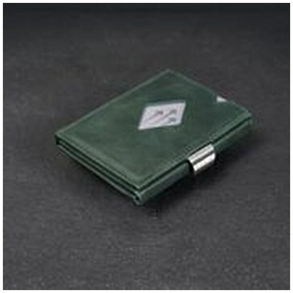 EXENTRIエキセントリEXD313EMERALDGREENエメラルドグリーンウォレットEXENTRIコンパクト財布
