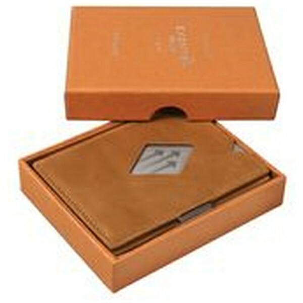 EXENTRIエキセントリEXD315COGNACコニャックウォレットEXENTRIコンパクト財布