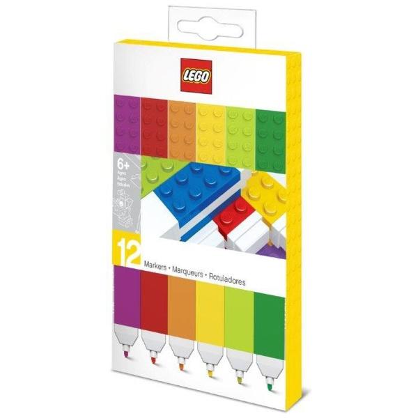 LEGOレゴLEGOマーカー12本セット37527