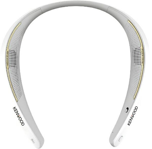 ケンウッドKENWOODネックスピーカーCAXNS1BTW[Bluetooth対応][首掛け肩掛けスピーカーCAXNS1BTW]