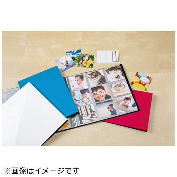 セキセイSEKISEIフォトアルバム〈高透明〉ましかく360(ましかくサイズ(89×89mm)360枚収容)KP-8936-10ブルー
