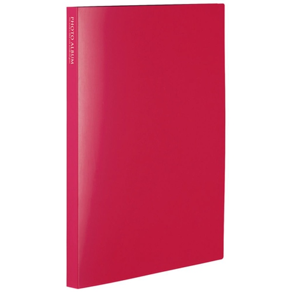セキセイSEKISEIフォトアルバム〈高透明〉ましかく240(ましかくサイズ(89×89mm)240枚収容)KP-8924-21ピンク