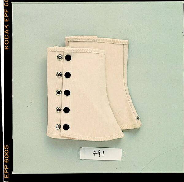 おたふく手袋OTAFUKUGLOVE帆布キャハン(ホック式)