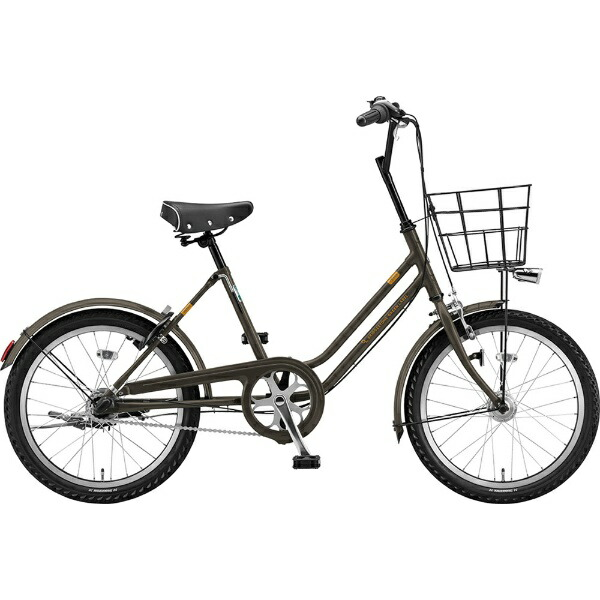 ブリヂストンBRIDGESTONE20型自転車ベガス3T(カーキ/3段変速・点灯虫モデル)VEG03T6315【組立商品につき返品不可】【代金引換配送不可】