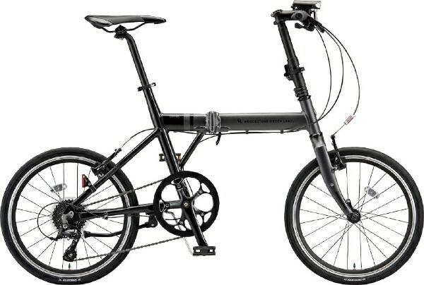 ブリヂストンBRIDGESTONE20型折りたたみ自転車ブリヂストングリーンレーベルシルヴァCYLVAF8F(マット&グロスブラック/8段変速/フレームサイズ:430mm/適正身長範囲:148〜179cm)YF8F20【組立商品につき返品不可】【代金引換配送不可】