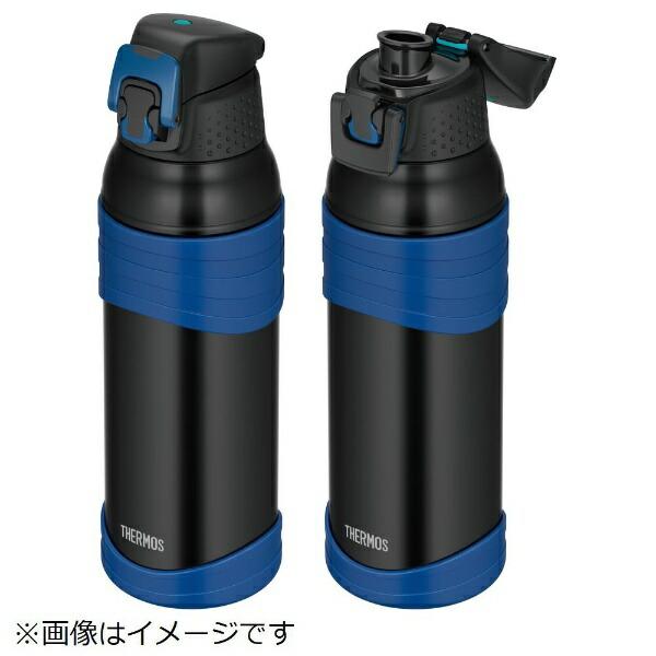サーモスTHERMOS真空断熱スポーツボトル1000mlブラックブルーFJC-1000-BK-BL[FJC1000BKBL]