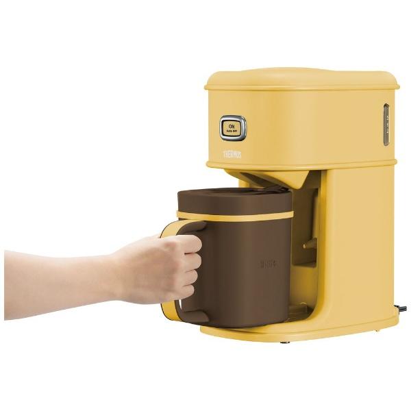 サーモスTHERMOSコーヒーメーカーアイスコーヒーメーカーキャラメルECI-661(CRML)[ECI661CRML]