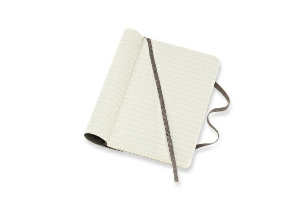 MOLESKINEモレスキンカラーノートノートブックソフトカバールールド(横罫)アースブラウンPocket