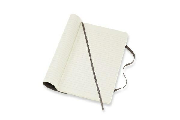 MOLESKINEモレスキンカラーノートノートブックソフトカバールールド(横罫)アースブラウンLarge