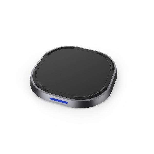 TUNEWEAR10WPlusWIRELESSCHARGER高速急速Qi7.5W対応ワイヤレス充電器iPhoneX8ブラックTUN-IP-200103c[ワイヤレスのみ/QuickCharge対応][TUNIP200103C]
