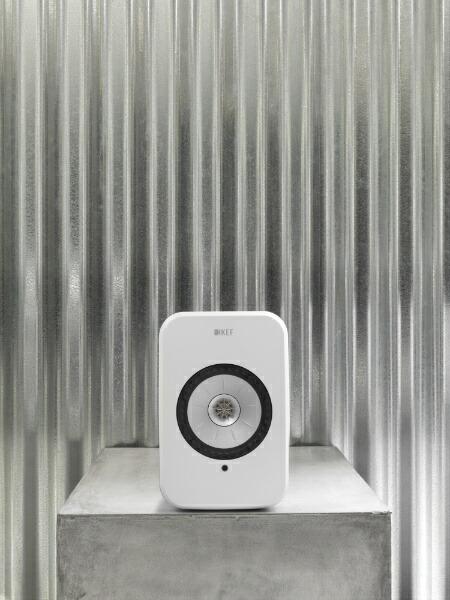 KEFケーイーエフWiFiスピーカーグロスホワイトLSX[ハイレゾ対応/Bluetooth対応/Wi-Fi対応][LSX]