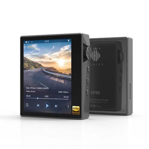 HIDIZSヒディスデジタルオーディオプレーヤーGlayAP80-GY[1TB/ハイレゾ対応][AP80GY]