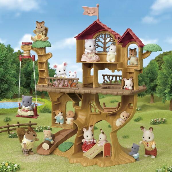 エポック社EPOCHシルバニアファミリーコー61森のどきどきツリーハウス