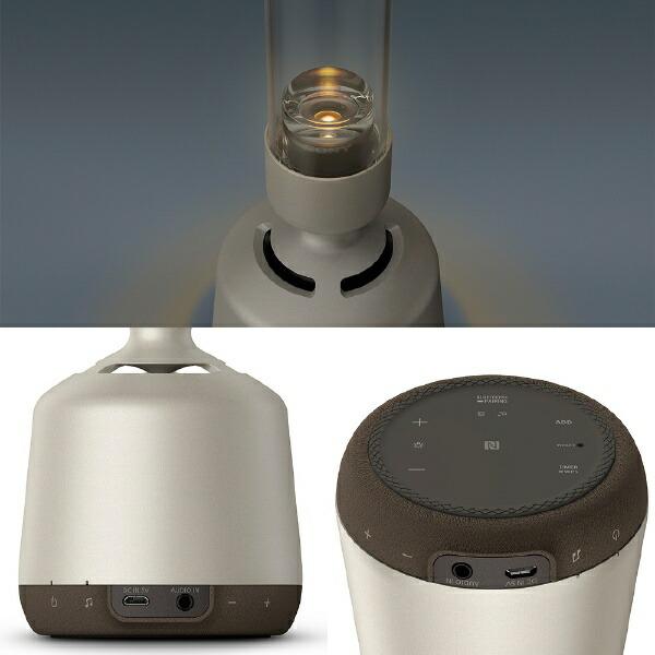 ソニーSONYグラスサウンドスピーカーLSPX-S2[ハイレゾ対応/Bluetooth対応/Wi-Fi対応][LSPXS2ブルートゥースワイヤレススピーカー]