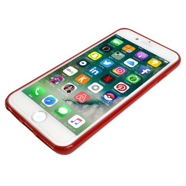 エムディーシーMDCNewBalance[TPU+PCケース/レッド]iPhone8md-74255-3