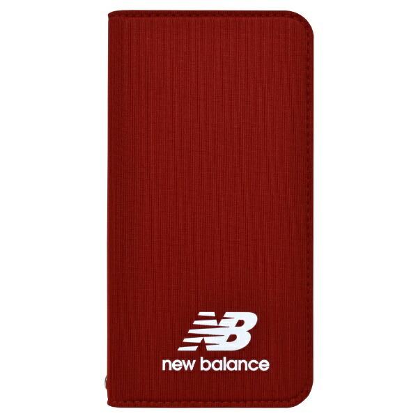 エムディーシーMDCNewBalance[手帳ケース/レッド]iPhone8md-74257-3