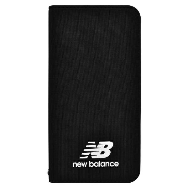 エムディーシーMDCNewBalance[手帳ケース/ブラック]iPhoneXS/Xmd-74261-1