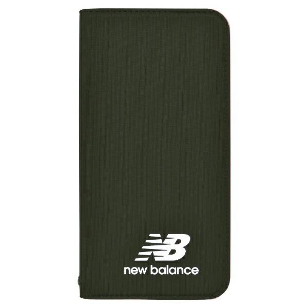 エムディーシーMDCNewBalance[シンプル手帳ケース/カーキ]iPhoneXS/Xmd-74261-2