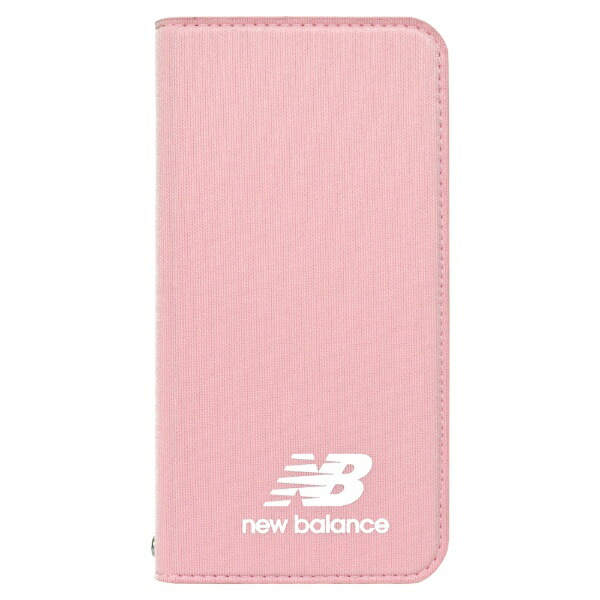 エムディーシーMDCNewBalance[手帳ケース/ピンク]iPhoneXS/Xmd-74261-4