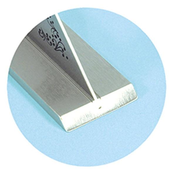 シンワ測定ShinwaRulesシンワ測定止型定規広巾台付台巾40mmA764-62162