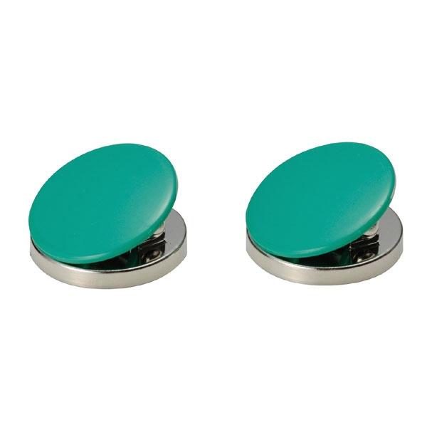 シンワ測定ShinwaRulesシンワ測定マグクリップ丸型A-緑2入A764-72036