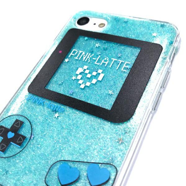エムディーシーMDCiPhone8/7PINK-latte[ゲーム/ブルー]md-74232BLU