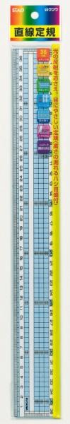 クツワKUTSUWAコモグラス定規36cm