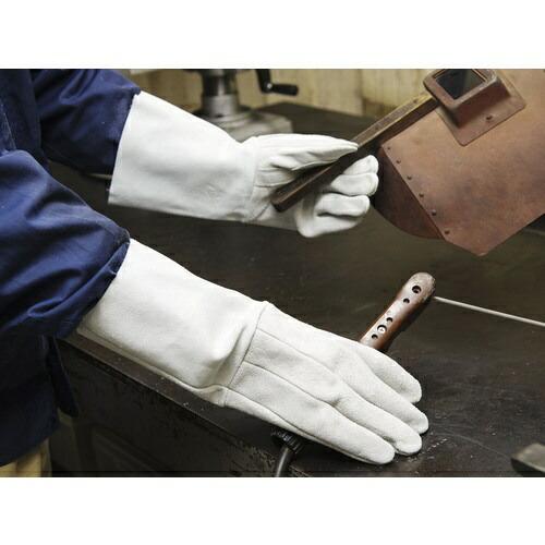 東和コーポレーションTOWACORPORATIONトワロン溶接用牛床革5本指W−335(内縫い)460-W335UCHI