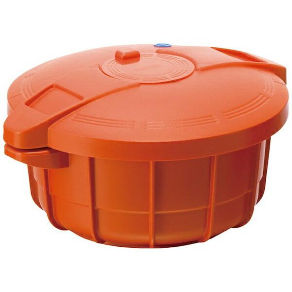マイヤージャパンMEYER電子レンジ用圧力鍋パンプキンオレンジMPC2.3[MPC2.3]