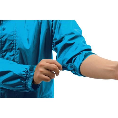 マックMakkuマック雨具フェニックス2ブルーLLAS-7400-37