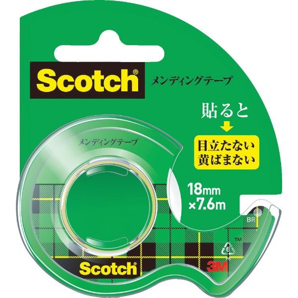 3Mジャパンスリーエムジャパン3Mメンディングテープ18mmX7.6mディスペンサー付CM-18