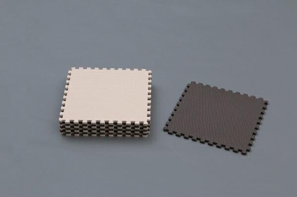 アイリスオーヤマIRISOHYAMAアイリスオーヤマジョイントマットJTM-32(CLR)(32×32×1cm×8枚/ブラウン・ベージュ)[32×32]